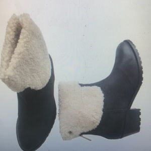 """""""ZADIG & VOLTAIRE"""" TEDDY Leather Ankle Boots."""